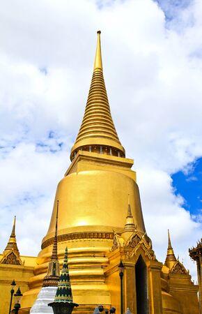 A golden pagoda, Grand Palace, Bangkok, Thailand