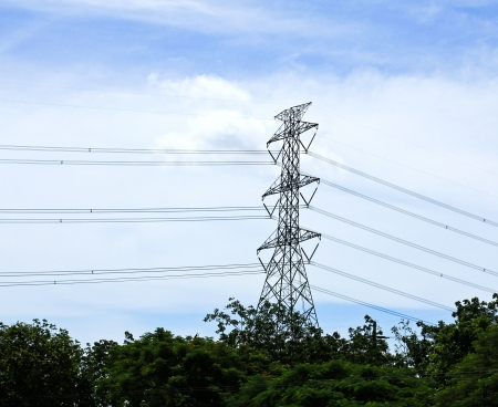 power transmission tower Stock Photo - 15236749