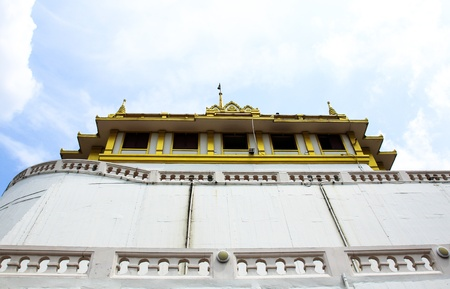 Wat saket, Golden mount Temple in Thailand Stock Photo - 16029216
