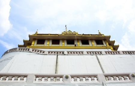 Wat saket, Golden mount Temple in Thailand Stock Photo - 16029216