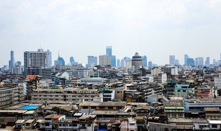 General view of Bangkok from Golden mount, Thailand Stock Photo - 16029224
