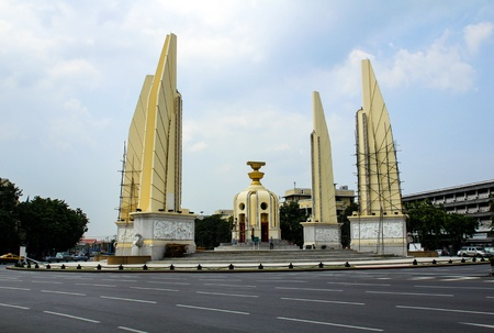 Democracy monument in Bangkok, Thailand. Stock Photo - 16029219