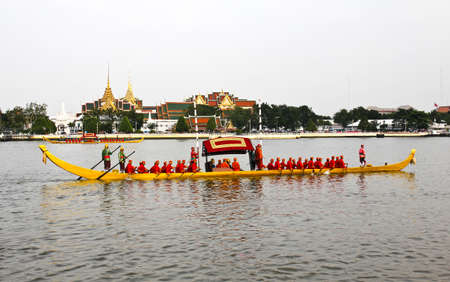 Thailand's Royal Barge Procession at Chao Phraya River Stock Photo - 16205447