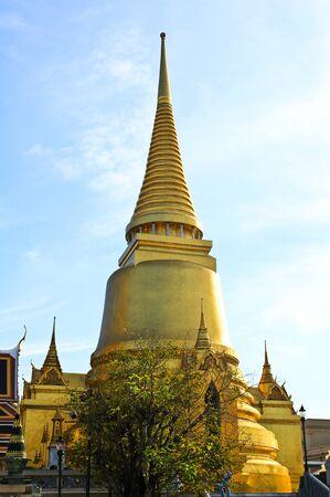 tantric: A golden pagoda, Grand Palace, Bangkok, Thailand