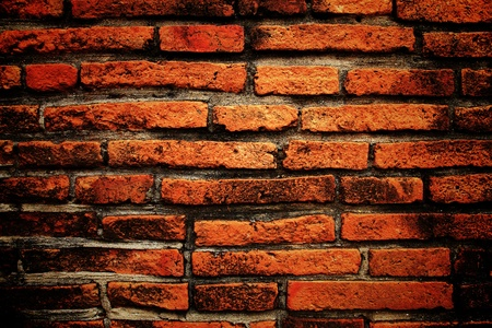 Old brick wall texture background photo