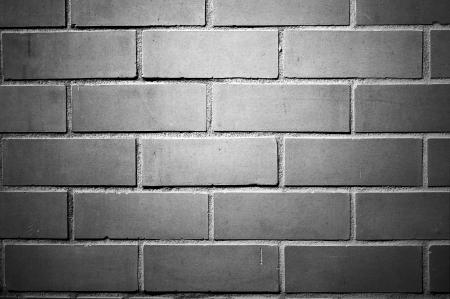 Mur de briques, version noir et blanc