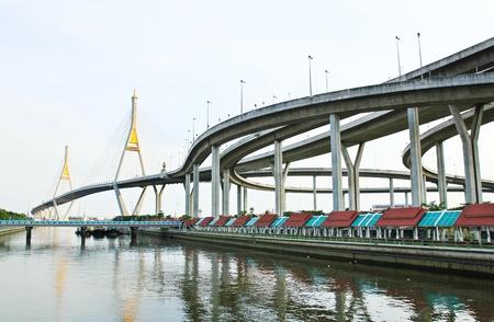 Pont Bhumibol, Bangkok, Tha�lande