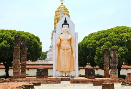 Wat Phra Sri Rattana Mahathat Temple, Phitsanulok , Thailand Stock Photo