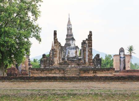 Parc historique de Sukhothai, la vieille ville de Tha�lande � il ya 800 ann�es