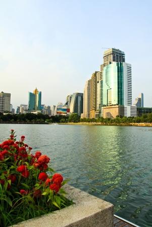 La vue sur la ville de Bangkok, Tha?lande