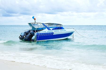 Speed Boat at Samed Island. photo