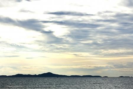 Sea at evening photo