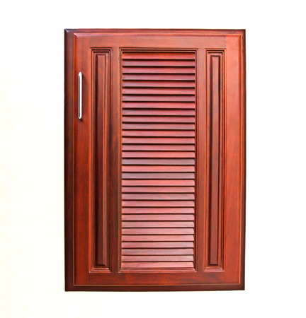 wooden cabinet doors photo