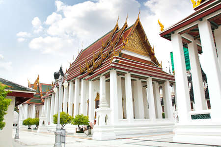 Wat ratchanatdaram temple in Bangkok, Thailand Stock Photo