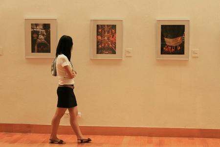 art: The Art Gallery Bangkok Thailand.