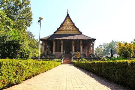 kaew: Haw Phra Kaew, Vientiane, Laos.