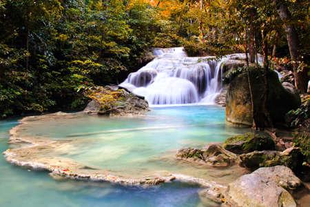 Autumn Waterfall photo