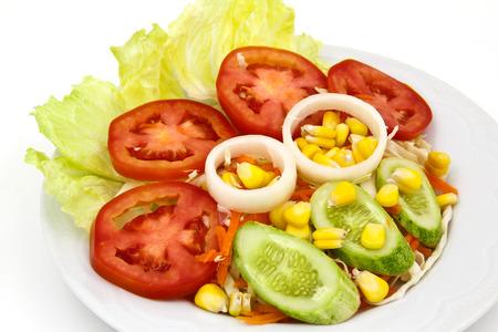 Salade de l�gumes frais.
