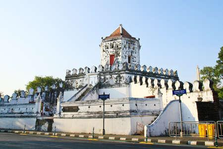 Phra Sumen Fort � Bangkok, en Tha�lande.