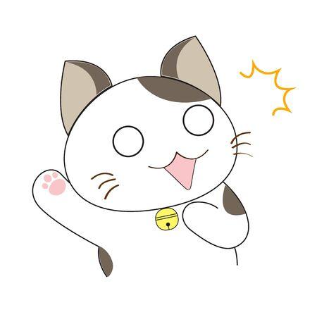 Caract�re mignon de chat Illustration