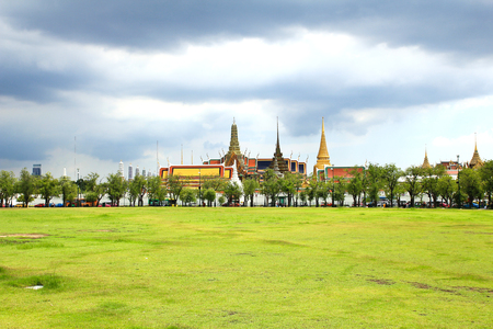 the emerald city: Wat pra kaew, Grand palace ,Bangkok,Thailand.