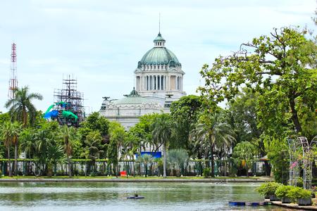 legislature: Marble building of The Throne Hall in Bangkok, where the national legislature sits. Editorial