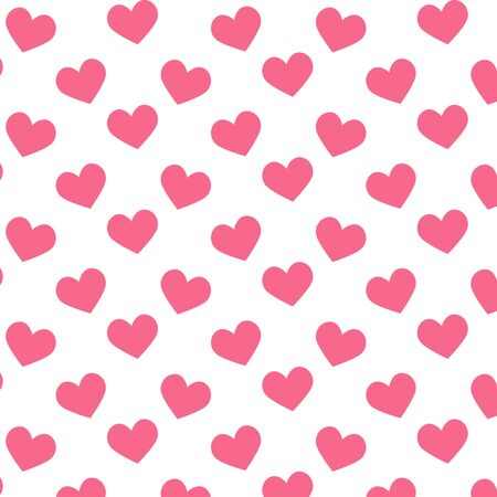 gift paper: Seamless pattern with hearts.Vector illustration