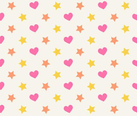 yellow star: Vector geometric ,Pattern background Illustration