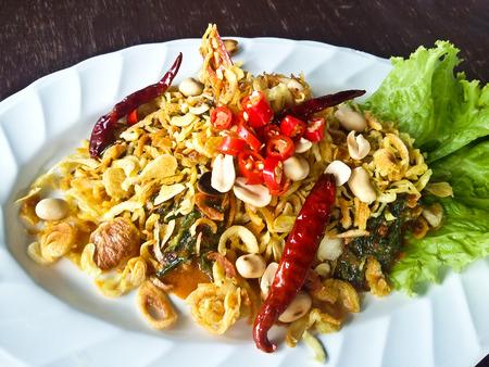 thailand food: Thai Spicy Salad Stock Photo