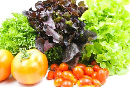 Closeup of Fresh vegetables