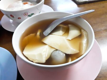 Douhua , Taiwanese Tofu Dessert