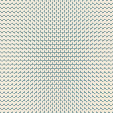 knitted: Seamless knitted pattern background Illustration