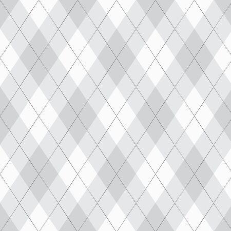 grey pattern: Seamless argyle pattern. Diamond shapes background.