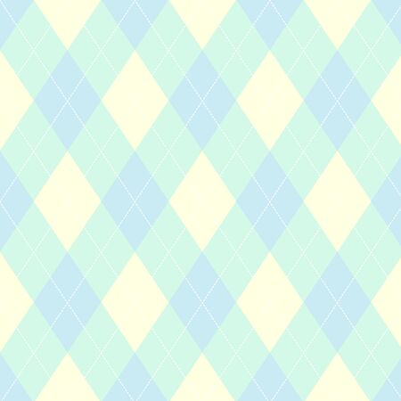 argyle: Seamless argyle pattern. Diamond shapes background.