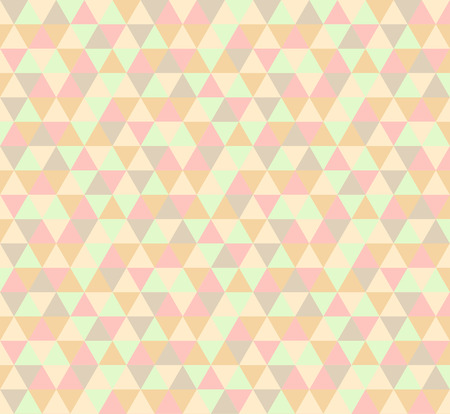pink wallpaper: Abstract geometric triangle pattern background Illustration