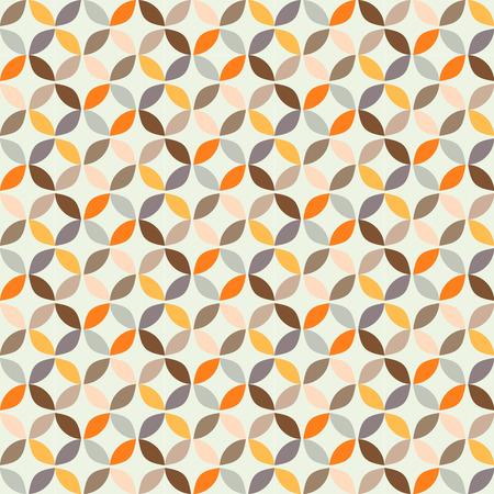 Vector geometrica cerchio pattern di sfondo