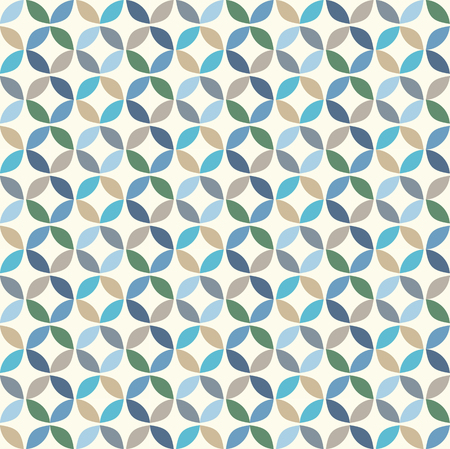 Vector Geometric Circle Pattern Background