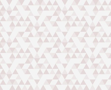Abstract geometric triangle pattern background Illustration
