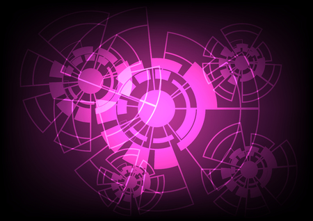 Abstract Vector Background Technology Concept.