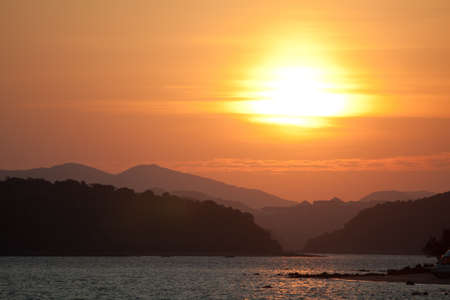 Sunrise in East Hong Kong photo