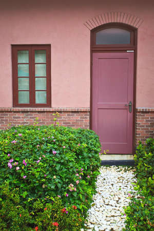 window and door in the garden Stock Photo - 10922401
