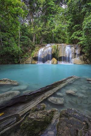 Erawan Waterfall, Kanchanaburi, Thailand  photo