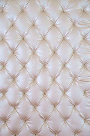 white sofa: White cream colour sofa texture as background