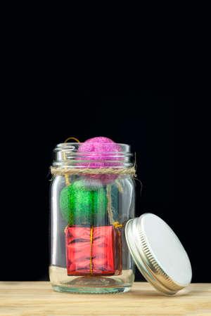 christmas perfume: Christmas gift bottle