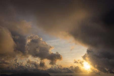 Cloud sunset sky Archivio Fotografico