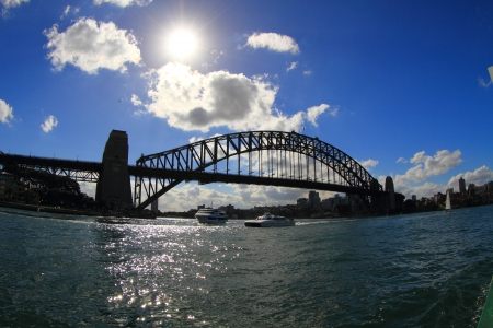 habour: Habour Bridge, view from Sydney Opera House
