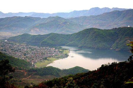 pokhara: Pokhara Valley, Sarangkot, Nepal