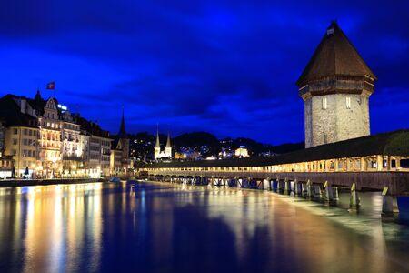 Chapel Bridge, Lucerne Switzerland photo