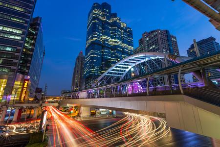 Chongnonsi BTS Station, Bangkok Thailand