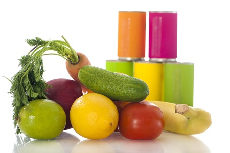 canned goods: Vegetable and canned goods